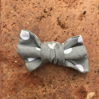 Dotted Dog Bow Tie