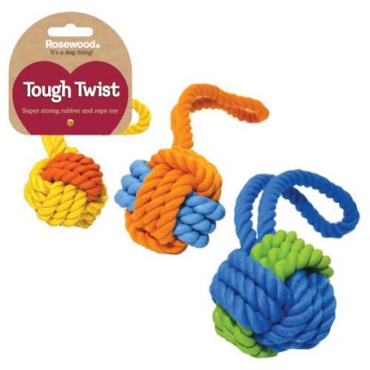 Rubber Rope Ball Tug