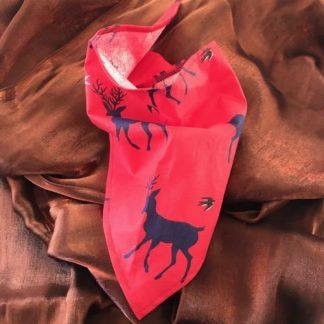 Christmas Reindeer Tie Bandana