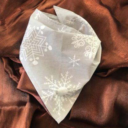 Christmas Snowflake Tie Bandana