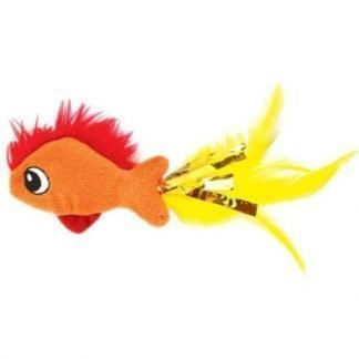 Feather Fish Catnip Toy