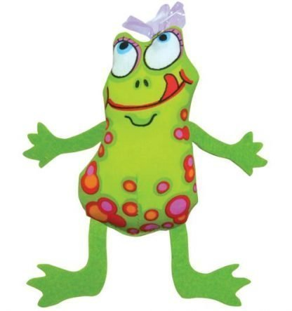 Frog and Fly Catnip Toy
