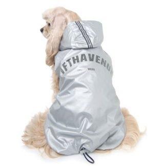 Dogs waterproof vest 5th avenue Silver