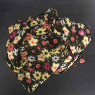 Flower Fleece Pet Blanket