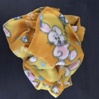 Pet Fleece Blanket -Bunny Pattern