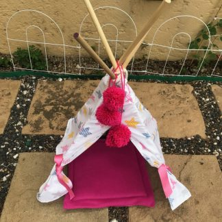 Pet Teepee Stars Pattern