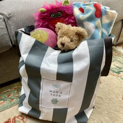 Personalised Dog Toy Bag