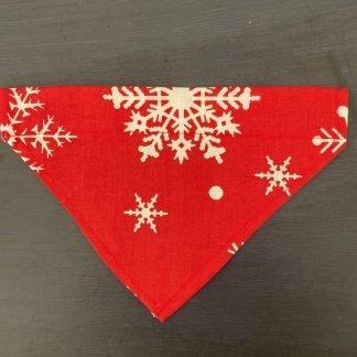 Christmas Dog Bandana Red